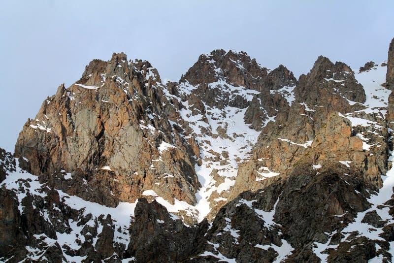 Kazachstan góry zdjęcia stock
