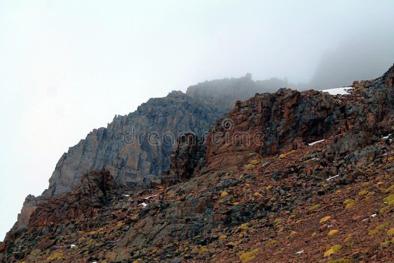 Kazachstan góry obraz stock