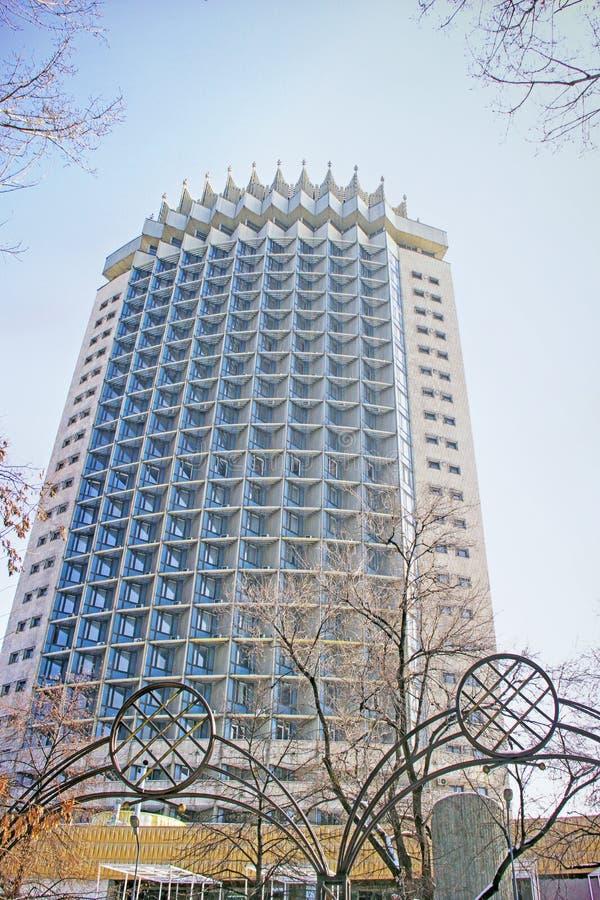 Kazachstan hotel wewnątrz w Almaty, Kazachstan zdjęcie royalty free