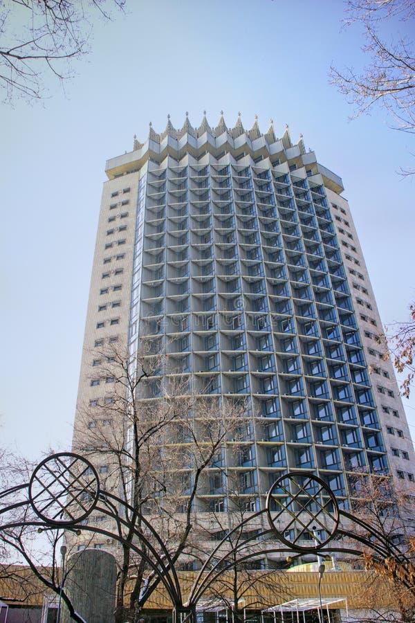 Kazachstan hotel wewnątrz w Almaty, Kazachstan fotografia royalty free