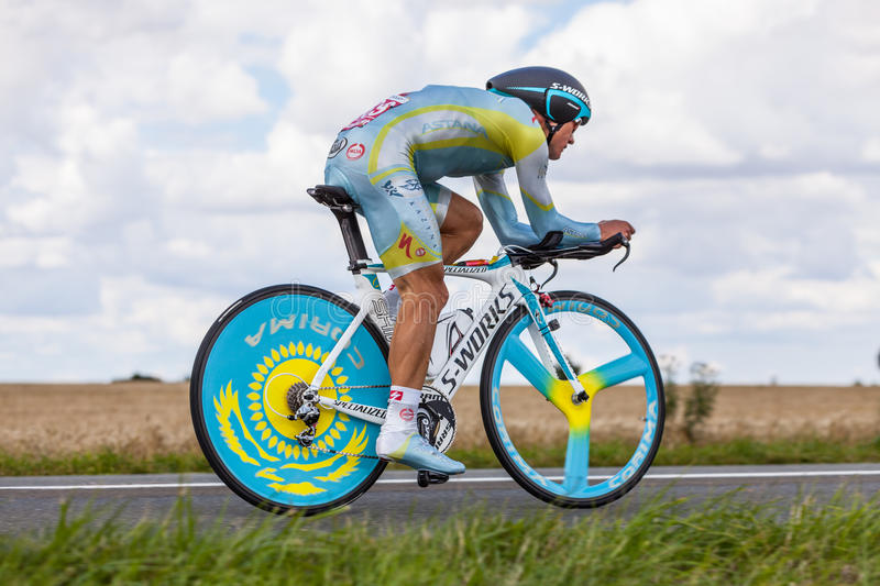 The Kazak cyclist Vinokourov Alexandre