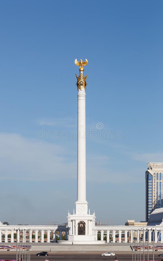 Kazak eli Stella. Independent symbol of Kazakhstan. Astana royalty free stock photo