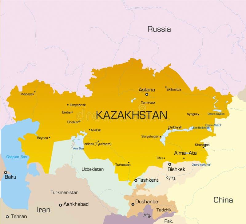 Kazakhstan illustration libre de droits