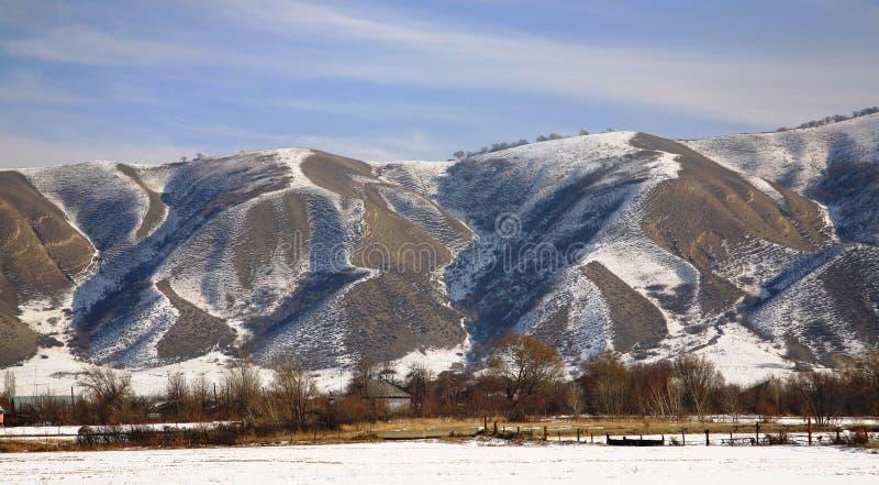 Kazakhstan-Befestigungen lizenzfreies stockfoto