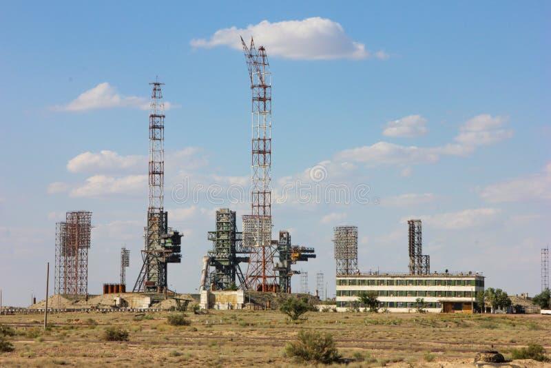 kazakhstan Cosmodrome Baikonur Buran imágenes de archivo libres de regalías