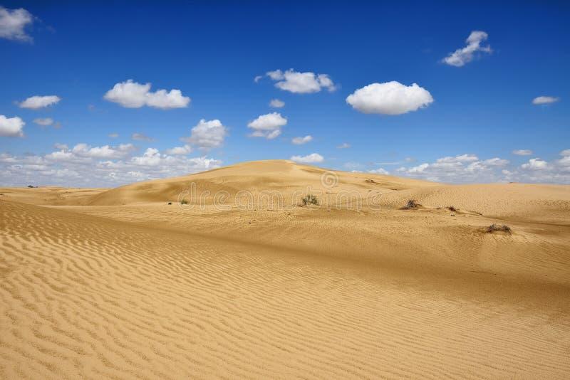 Kazakhstan,.Desert landscapes, Mangystau province. Kazakhstan, Ustyurt plateau, Beautiful dunes desert on the steppe landscapes close the Aktau, Mangystau royalty free stock images