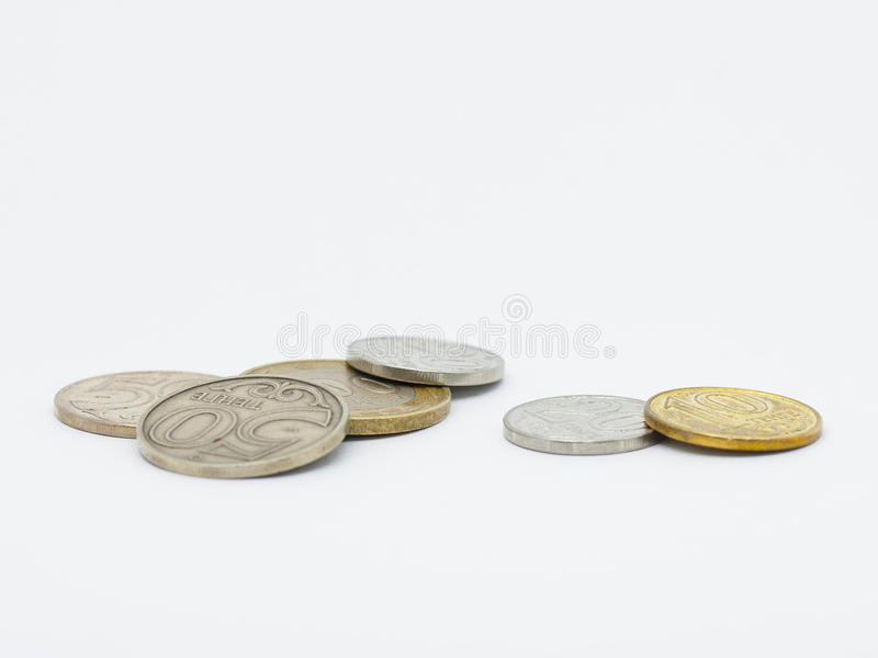 Kazakhstan money royalty free stock image