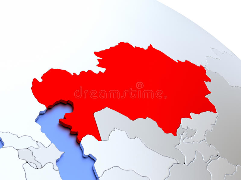 Kazakhstan on world map stock illustration illustration of render download kazakhstan on world map stock illustration illustration of render 78579871 gumiabroncs Choice Image
