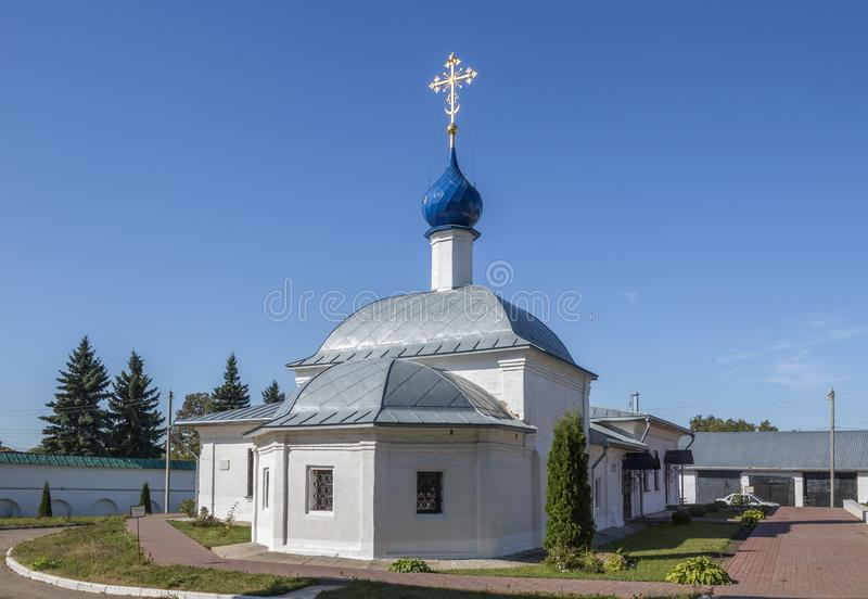 Kazan εκκλησία με τους θαλάμους νοσοκομείων Οδός Moskovskaya, pereslavl-Zalessky, περιοχή Yaroslavl Ρωσική Ομοσπονδία στοκ εικόνες