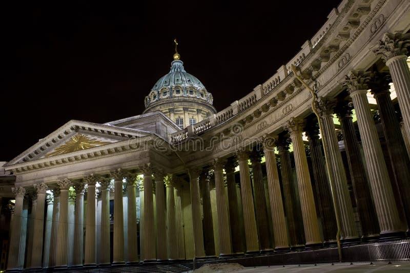 Kazan καθεδρικός ναός, Αγία Πετρούπολη, Ρωσία στοκ φωτογραφία με δικαίωμα ελεύθερης χρήσης