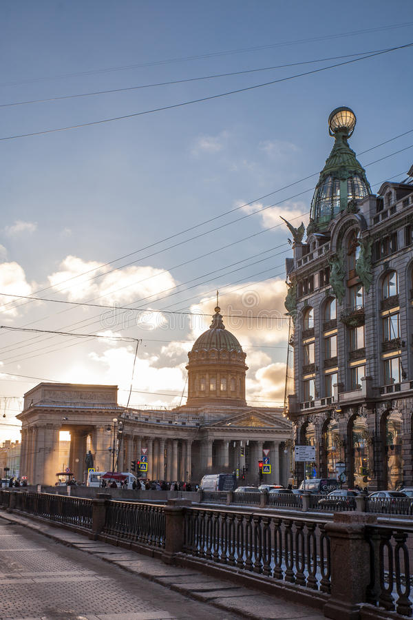 kazan arhitektury katedralny historyczny zabytek zdjęcie stock