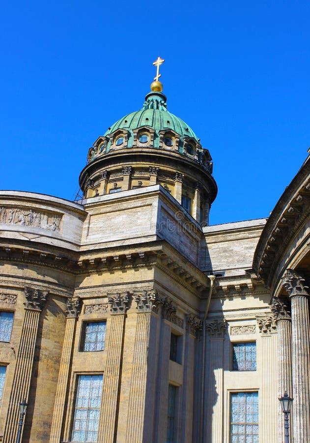 kazan arhitektury katedralny historyczny zabytek fotografia stock