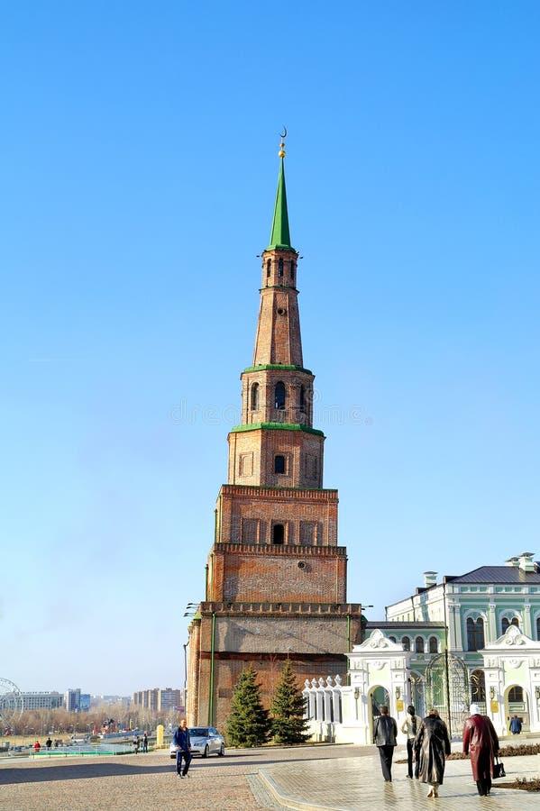 kazan Basztowy Syuyumbike obraz royalty free