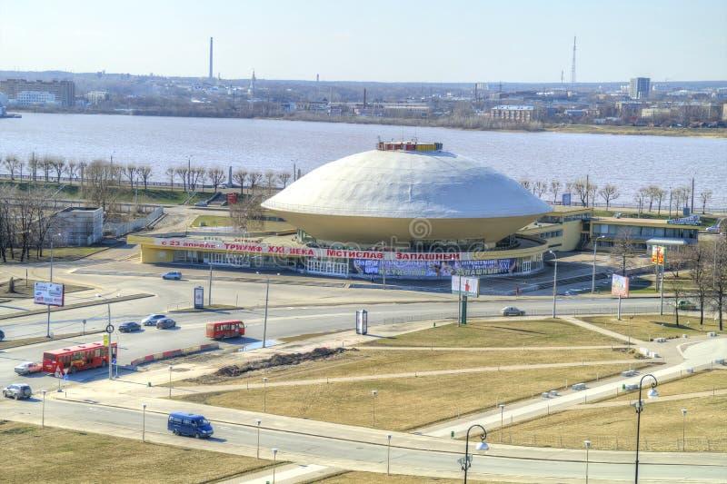 kazan Byggnad av cirkusen arkivfoton