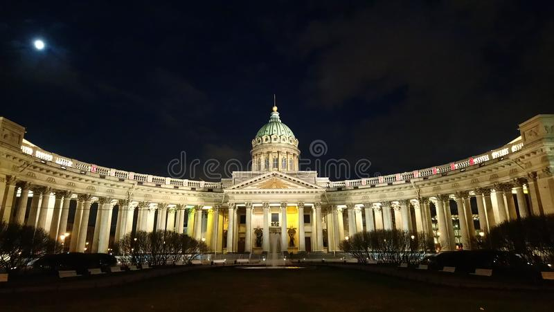 The Kazan cathedral royalty free stock photo