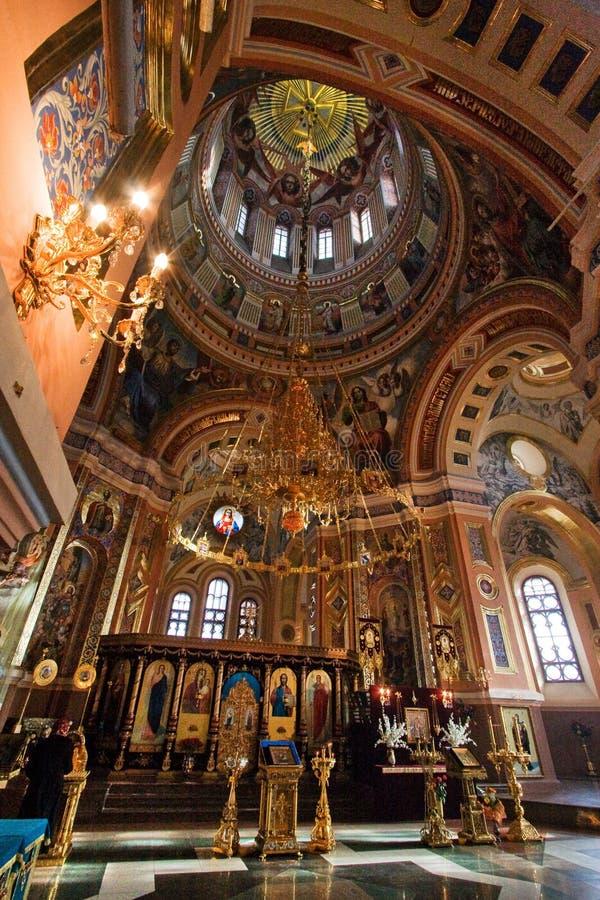 Kazan Cathedral, Irkutsk stock photos