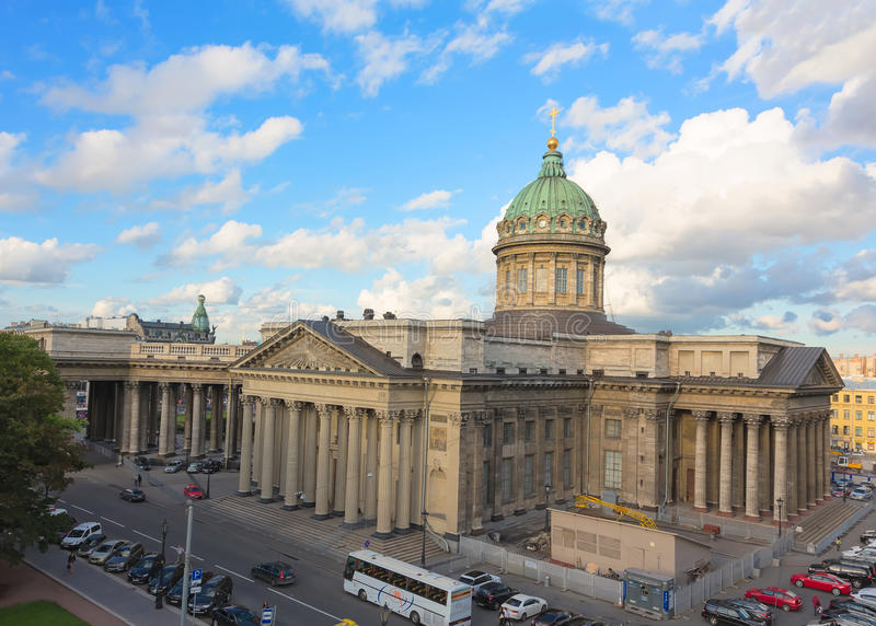 Download Kazan Cathedral In St. Petersburg, Russia Editorial Stock Image - Image: 34219269