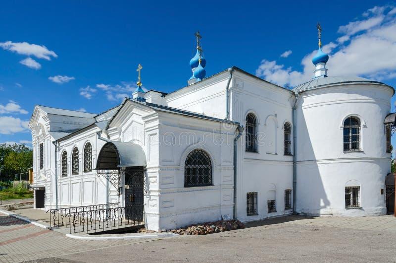 Kazan Church, Holy Assumption Knyaginin nunnery, Vladimir, Russia. Kazan Church, Holy Assumption Knyaginin nunnery, Vladimir, Golden Ring of Russia royalty free stock image
