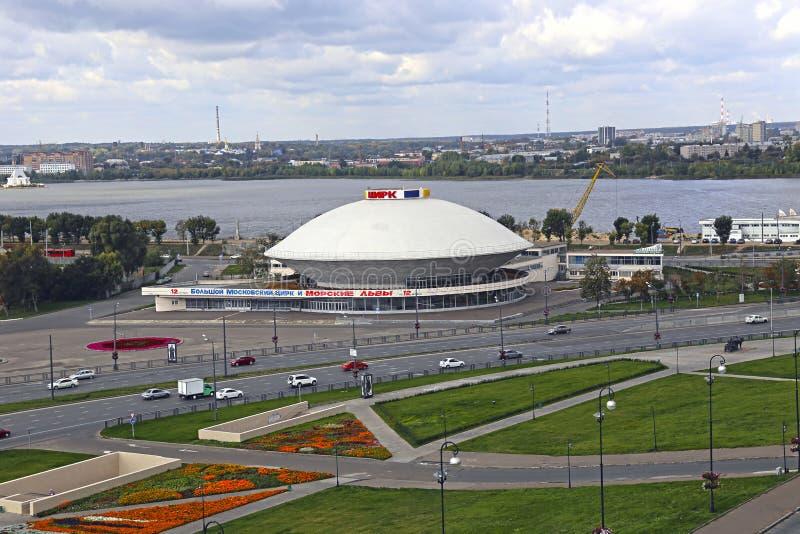 Kazan cirkus arkivfoton
