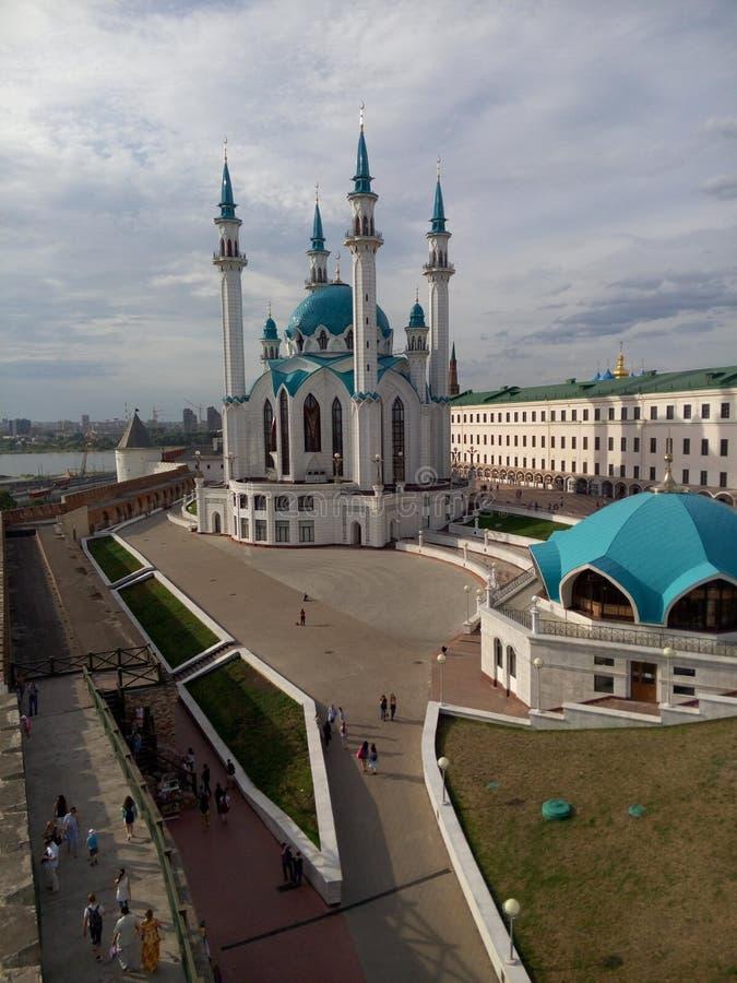Kazan de zomer stock foto