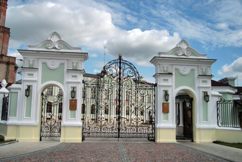 Kazan. Het Kremlin stock afbeeldingen