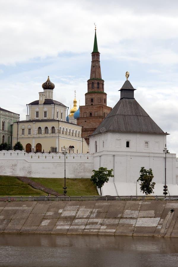Kazan. Het Kremlin royalty-vrije stock foto's