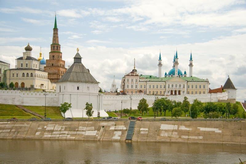 Kazan. Het Kremlin stock afbeelding