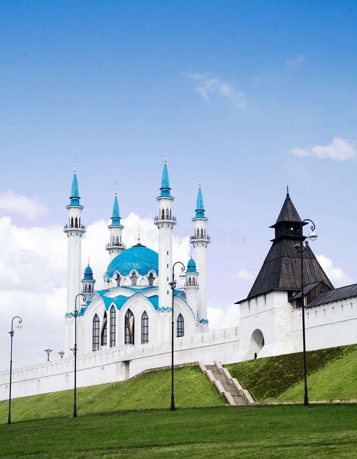 Kazan het Kremlin stock foto's