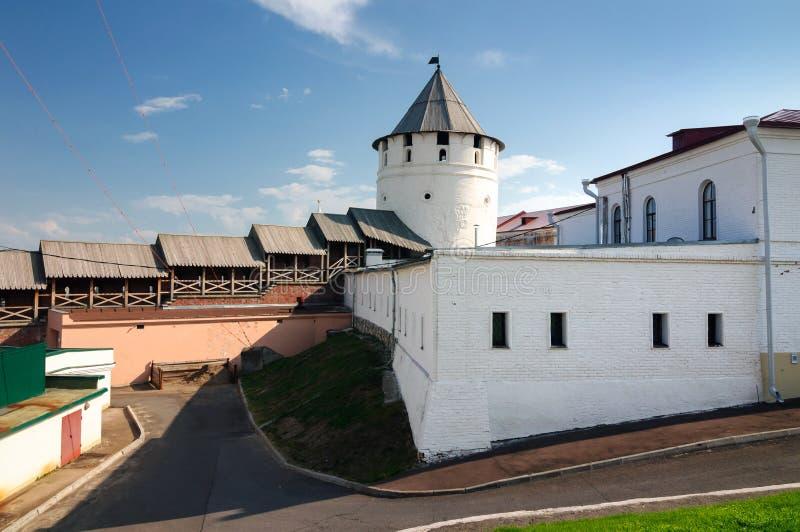 Kazan het Kremlin complex van architecturale monumenten, de Republiek van Tatarstan royalty-vrije stock afbeeldingen
