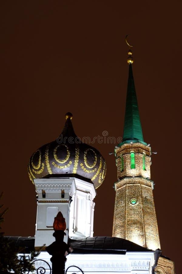 Kazan het Kremlin, Kazan Rusia royalty-vrije stock fotografie