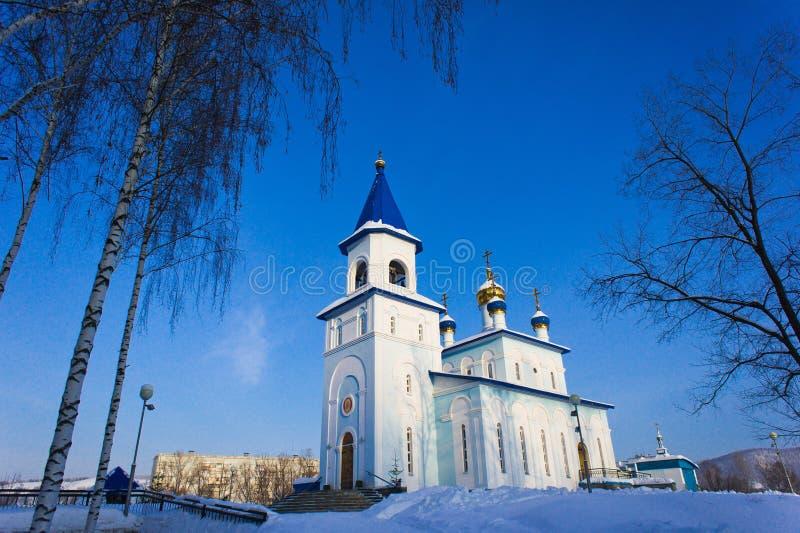 Kazan ikona matka bóg kościół obraz stock
