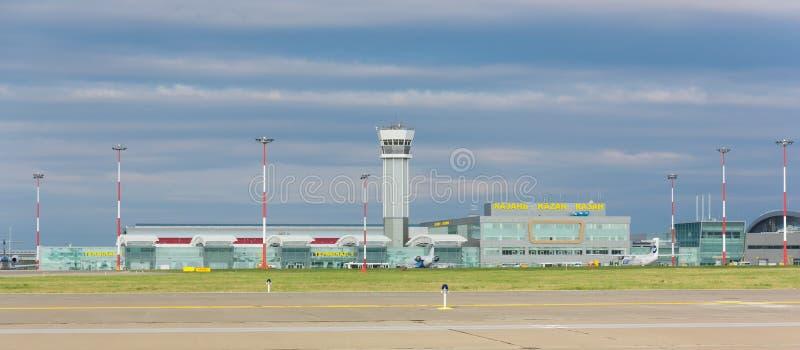 Kazan internationell flygplats arkivbilder