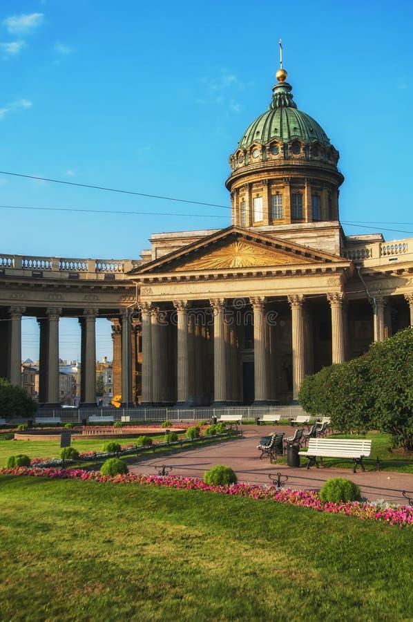 Kazan katedra, Świątobliwy Petersburg obraz stock