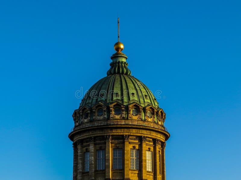 Kazan katedra, kopuła zdjęcia stock