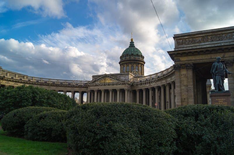 Kazan katedra w świętym Petersburg zdjęcie stock