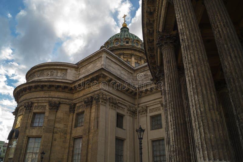 Kazan katedra w świętym Petersburg zdjęcia stock