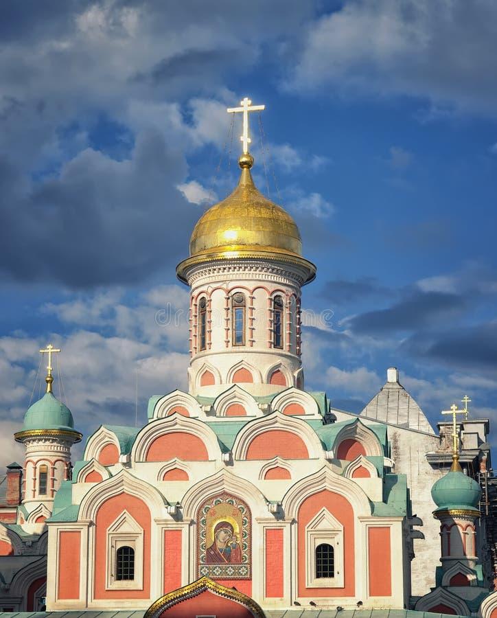 Kazan katedra w Moskwa Kremlin fotografia stock