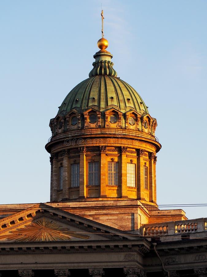Kazan katedra w Petersburg zdjęcia stock