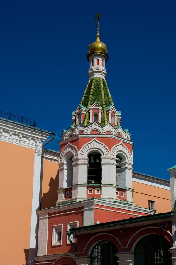 Kazan katedra znać jako katedra Nasz dama Kazan obrazy stock