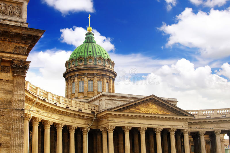 kazan katedralna dama Petersburg nasz święty zdjęcie royalty free