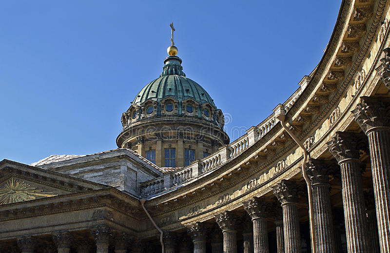 kazan katedralny święty Petersburg obrazy stock