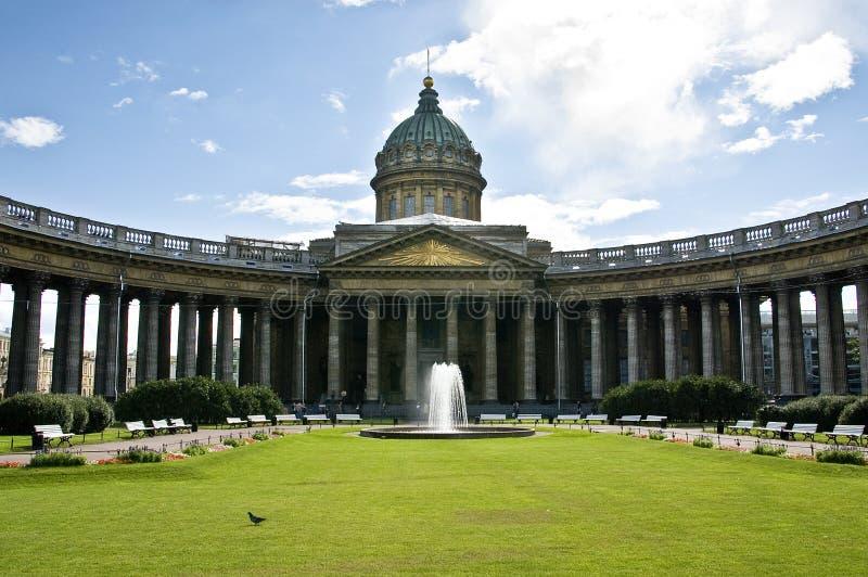 kazan katedralny st Petersburg zdjęcia royalty free