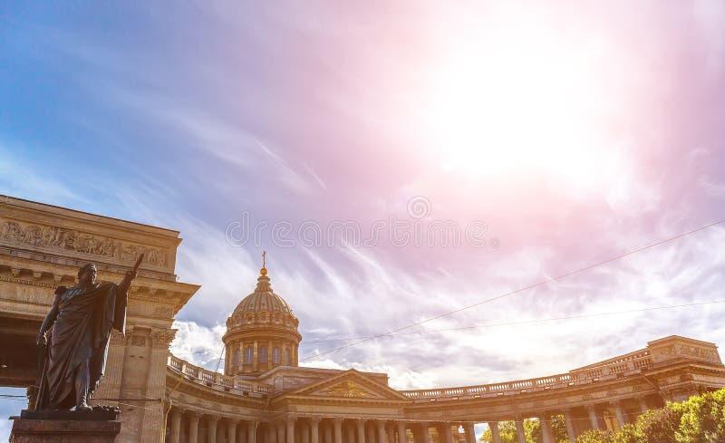 kazan katedralny st Petersburg Russia fotografia stock