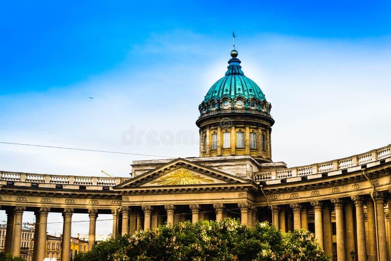 kazan katedralny st Petersburg Russia zdjęcie stock