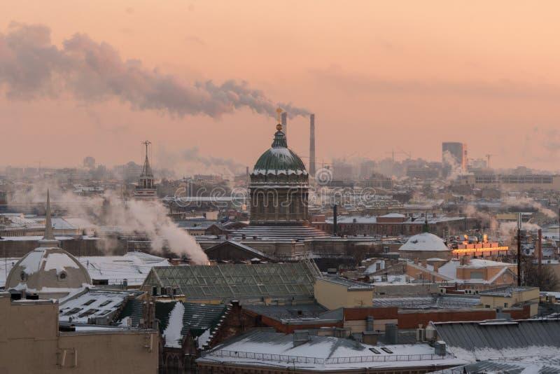 Kazan Kathedraal stock afbeelding