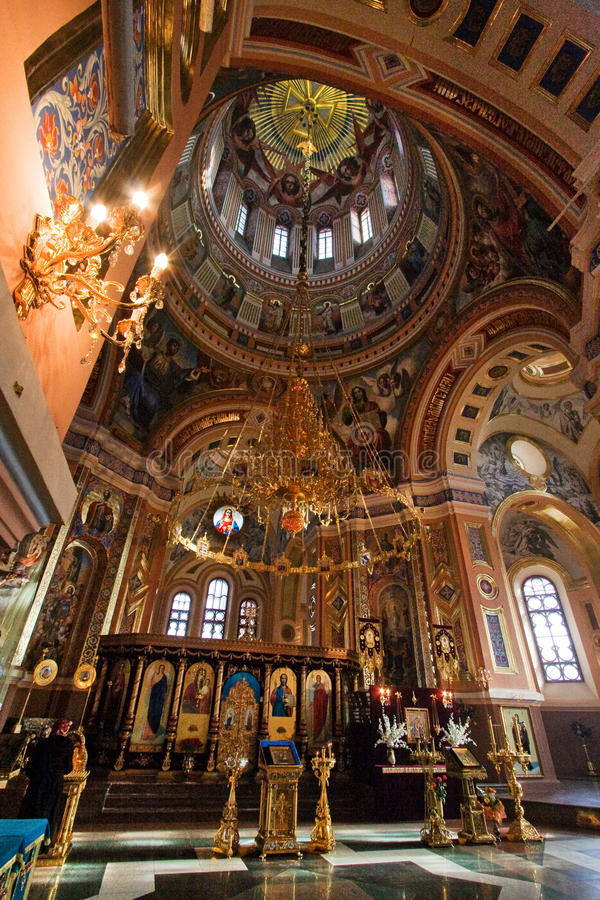 Kazan Kathedraal, Irkoetsk stock foto's