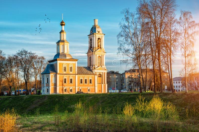 Kazan kościół w Uglich fotografia royalty free