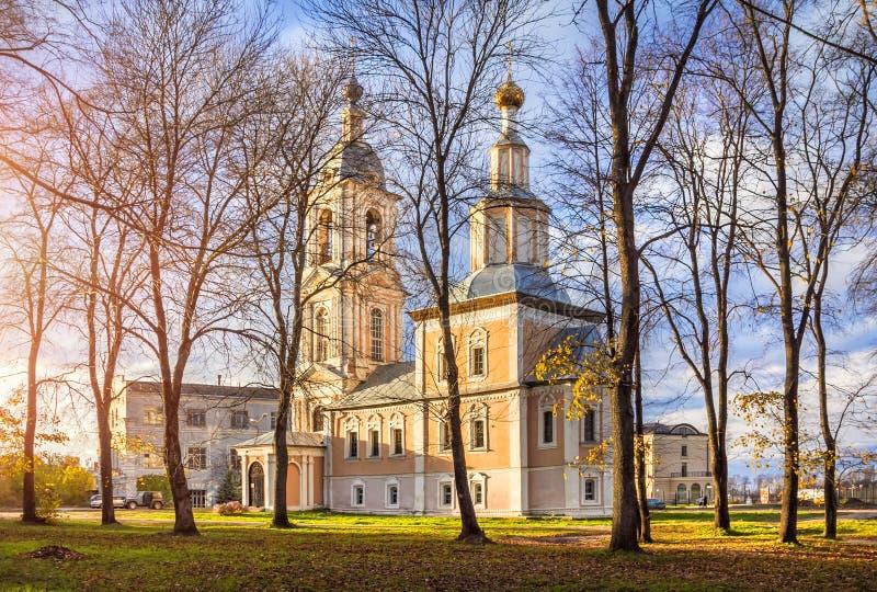 Kazan kościół w Uglich zdjęcia royalty free