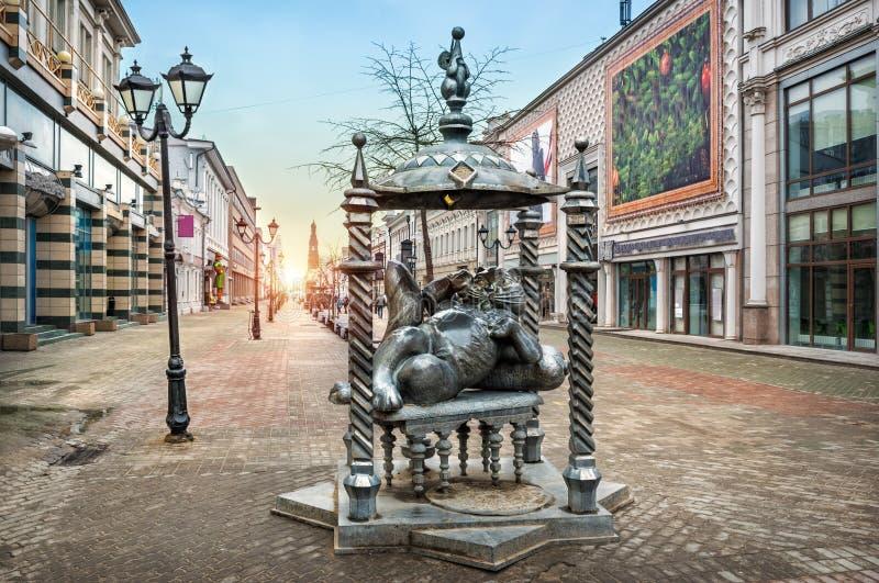 Kazan kot obraz royalty free