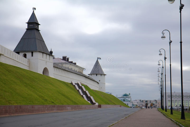 kazan kremlin Казань, республика Татарстана, России стоковое фото
